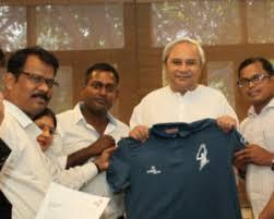 Naveen Releases Logo for Odisha Tennis League 2017