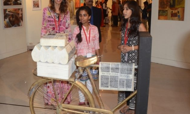 80 Odia Artists Exhibit Art Pieces in 'Interlude to the Bhubaneswar International Art Fair2018'
