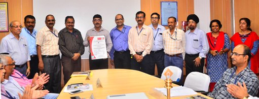 New Plate Mill of Rourkela Steel Plant gets the latest ISO 14001: 2015 Certification
