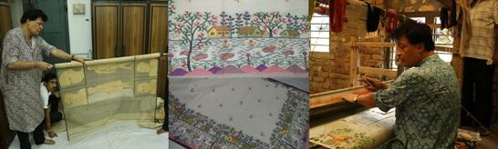 Weaving Ramayana on Sari Bengal Artisan Gets Doctorate from UK University