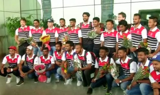 Odisha Men's Hockey World League Final 2017: Indian Team Arrives in City