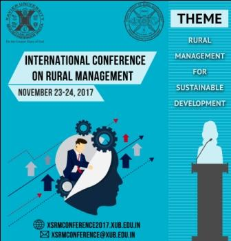 Xavier University Hosts Int'l Conference on Rural Management