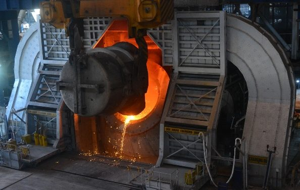 Jindal Steel & Power Completes 250 Ton Basic Oxygen Furnace at Angul Steel Plant