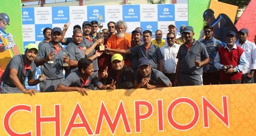 Tata Steel Friendship Cup Cricket Tournament-2017: Media XI Champion