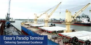 Essar Bulk Terminal Paradip Port cargo handling up by 20%