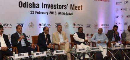 Odisha's Investors' Meet at Ahmedabad