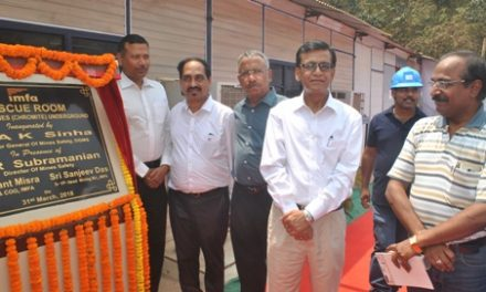 IMFA sets up first ever 'Rescue Room' at Sukinda mines