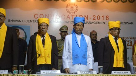 Convocation Ceremony Bhavan's Centre for Communication and Management, Bhubaneswar