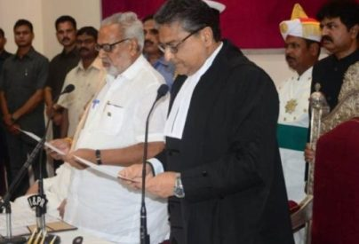 Prof. Ganeshi Lal sworn-in as new governor of Odisha
