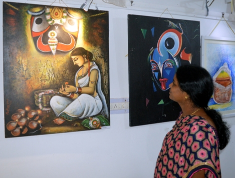 Suvadra Art Gallery's exhibition on Lord Jaganath concludes