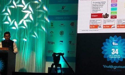 Odisha Tourism wins awards at 34th IATO Convention