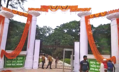 Naveen lays foundation stone for the Odia University