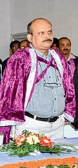 JK Mohapatra first vice chancellor of newly established Odia University