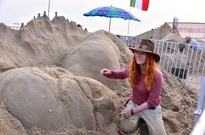 International Sand Art Festival gets off