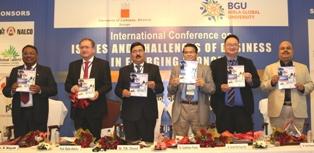 Birla University's B-School  Intl' Business Conference