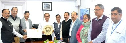 Rourkela Steel Plant wins  Golden Peacock Award for CSR