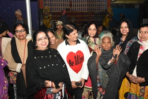 Nalco ladies' warming gesture for poor