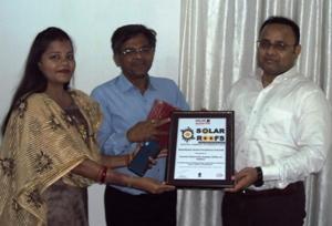 Cesu bags Solar Roofs Excellence Award