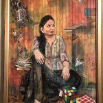 A portrait of an artist: Archana Singh's selfie
