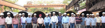 Rourkela Steel Plant develops pipes of new dimension