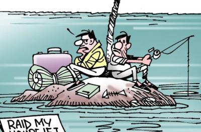 A cartoon speaks