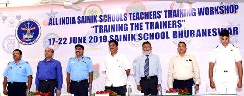 Bhubaneswar Sainik School Organises All India Teacher's Workshop