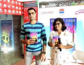 Ravinder Singh lauches his new book 'The Belated Bachelor Party' in the city