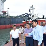 Union shipping secretary expresses satisfaction over Paradip Port work progress
