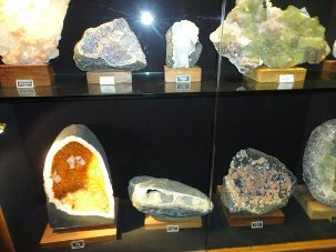 Now a museum for fossils, rocks, ores and minerals in Bhubaneswar city