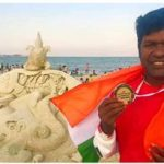 Sudarsan Pattnaik bags People's Choice Prize at Boston International Sand Art Championship