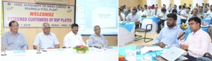 Rourkela Steel Plant Customer Meet for Steel Plates