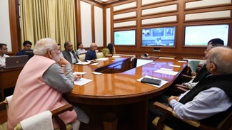 PM Modi emphasizes on universal housing, healthcare and water conservation in Pragati review