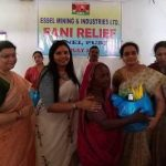 Essel Ladies Club stands by Fani affected villagers in Junei of Konark