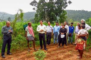 Nabarangpur collector Ajit Mishra visits Eco-villages, adopts one