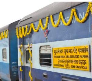 Relief to Kalahandi rail passengers, separate train for Junagarh from tomorrow