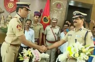 Sudhanshu Sarangi takes over as Twin City Police Commissioner