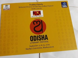 Curtains to go up on Odisha Literary Festival on Saturday