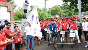 Amri Hospitals Organizes Cyclothon on World Heart Day