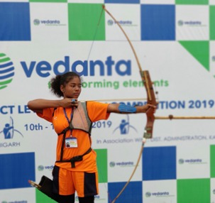 Vedanta Lanjigarh hosts  Archery Competition for Odisha school children