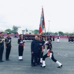 President of India Awards Colours to Corps of Army Air Defence at Gopalpur Military Station in Odisha