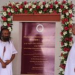 Sri Sri University Ayurved college foundation stone laying ceremony