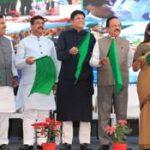 Piyush Goyal flags off Bhubaneswar-Nayagarh  train services