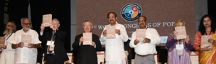 VP Naidu in World Congress of Poets: Exhorts poets to promote peace