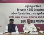 Odisha signs 3 MoUs to improve urban deliveries