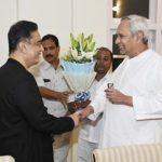 Kamal Haasan meets Odisha CM Naveen Patnaik today