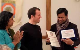 Sudarsan bags Italian Golden Sand Art Award 2019