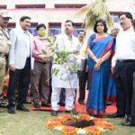 Union mines minister  Pralhad Joshi visits Nalco