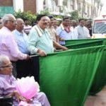Nalco dedicates 5 more battery operated vehicles to keep Puri 'Swacha Iconic Place'