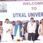 """ Make Utkal University world class instituion"", union minister Pradhan urges alumni"