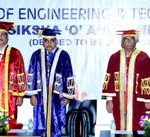 SOA university hands over degrees to 735 B Tech & M. Tech students on Graduation Day of ITER